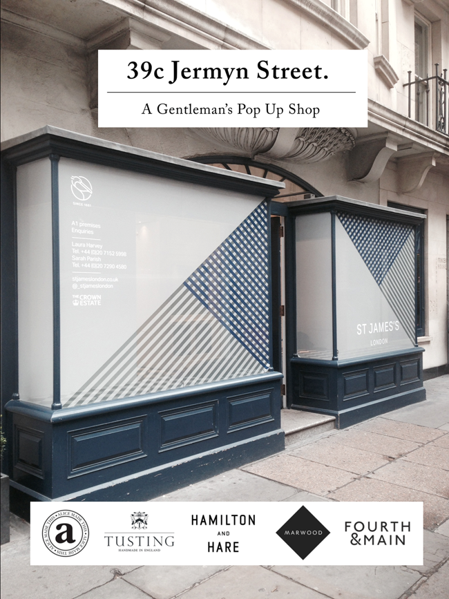39c Jermyn Street Pop Up