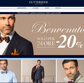 Gutteridge launch online store – save 20% todayonly