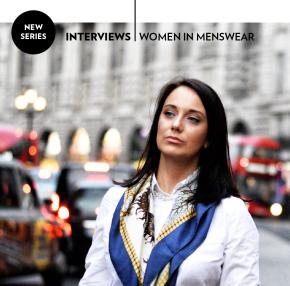Women in menswear: Mary-CaitBristow