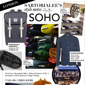Sartorialee's Soho stylenotes