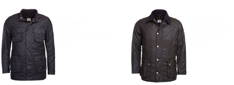Barbour X Stonehenge jackets copy